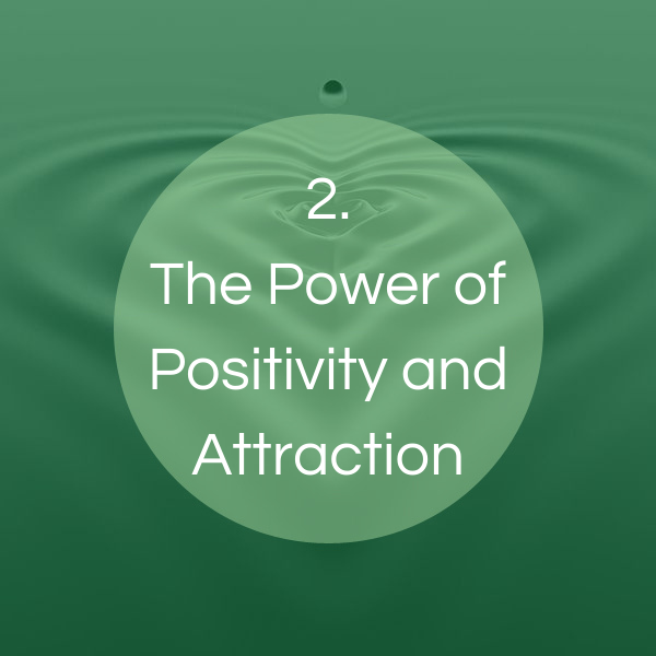 The power od positivity and attraction
